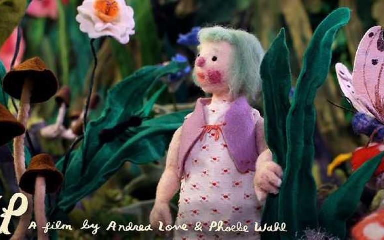 用「羊毛氈」做定格動畫,改編了安徒生《拇指姑娘》還拍成了電影~