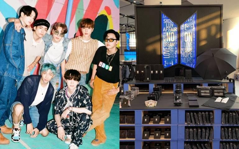 阿米們出動啦!「BTS快閃店」免費入場,3大打卡區美照拍不完!