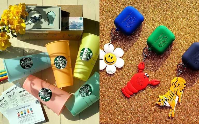 韓國正在流行繽紛系!光看顏色圖案就心情好好 這些時髦生活小物真的很可以買!