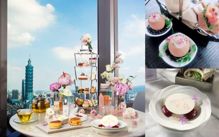 高空下午茶控必朝聖!馬可波羅酒廊X  香緹卡推頂級聯名下午茶,用振興卷還有回饋200元!