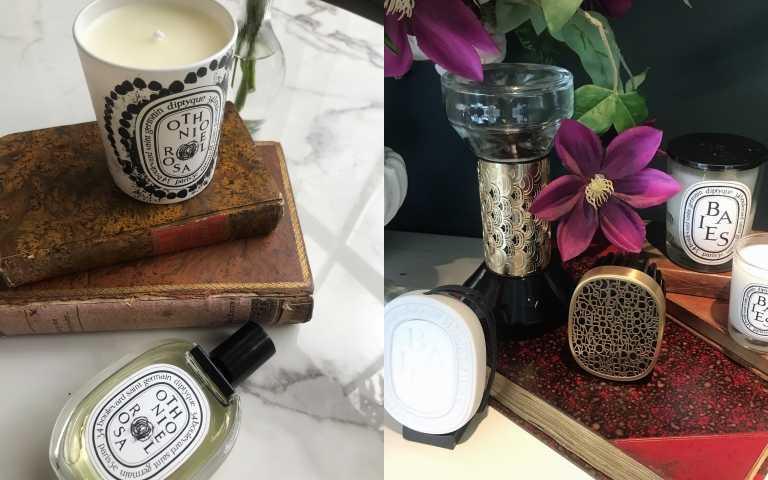 diptyque推最齊全香氛擴香系列:行動擴香器、電子擴香器、車用擴香等,還有全新玫瑰淡香水