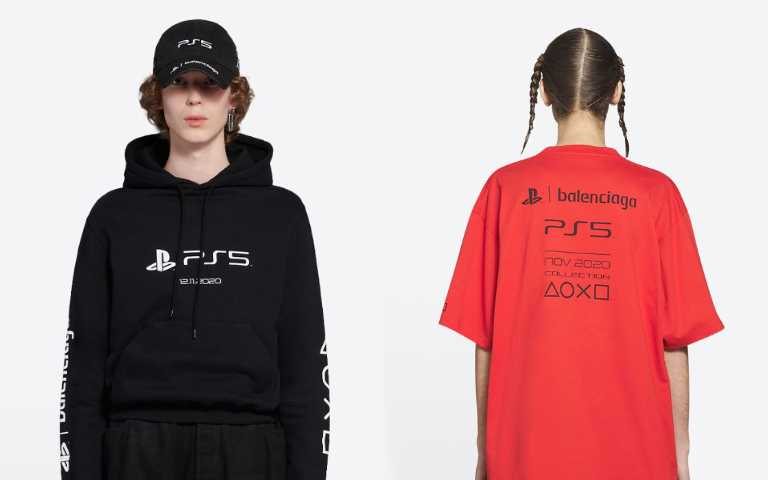 等等,信仰不夠深不要看!BALENCIAGA x PS5推出聯名服飾,居然比一台主機還要貴?!