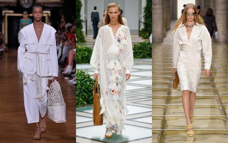 視覺涼爽立即降溫5度!夏日時髦「沁心白」穿搭立馬學起來