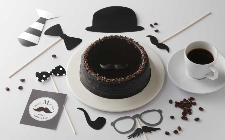今年的父親節蛋糕很MAN!黑色元素、紳士品味打造時尚爸爸