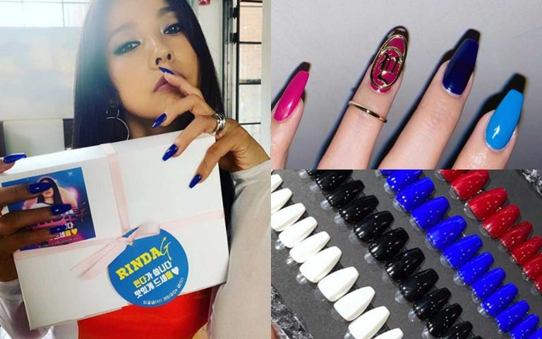 韓國最強新人SSAK3帶起的風潮還沒停!就連李孝利手上的甲片顏色 也成為韓妞的指名必擦色!