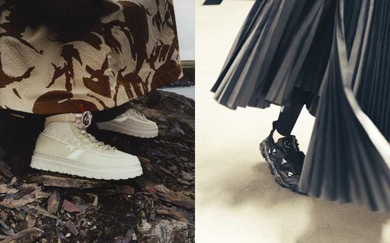 被叫做時髦的女生都穿帥鞋!融入個性圖騰花色、優秀機能設計,這兩款黑白聯名球鞋沒買到真的會氣到跺腳!