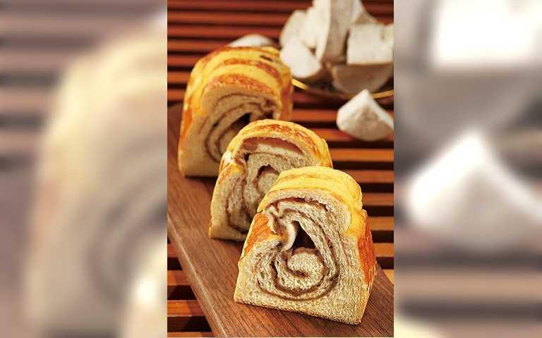 【紅牌吐司5】全統西點麵包 芋頭肉鬆鹹甜好滋味