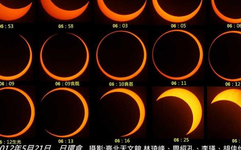 天文奇景「日環食」6/21再現 全台各地觀測時間一覽