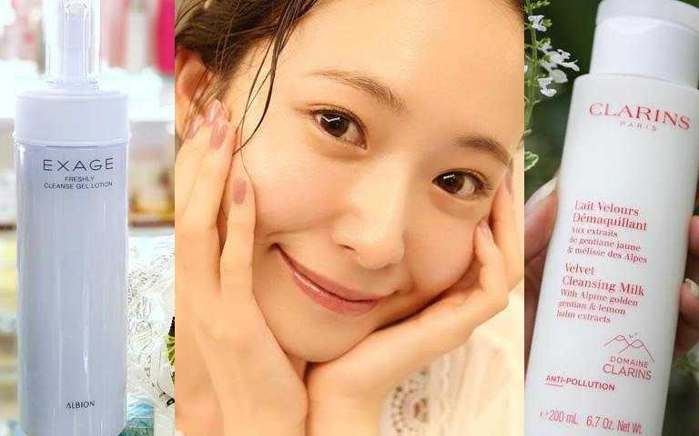 2021最新潔顏卸妝產品推薦!其中這兩款都被日本妹譽為是拯救口罩肌的養膚神器!
