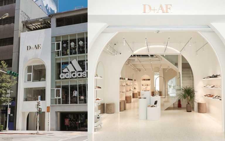 不用去首爾弘大商圈!台北也有三層獨棟超美鞋店讓你打卡試穿拍到爽!人氣女鞋品牌D+AF南西旗艦店正式開幕