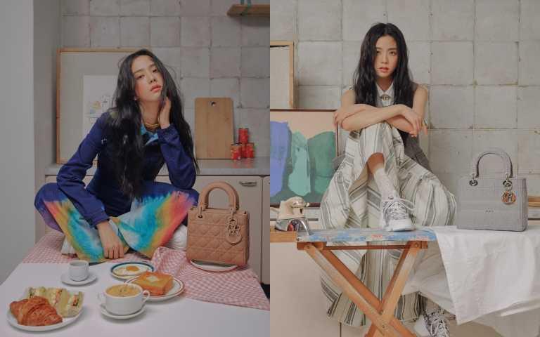 韓國帶貨女神再+1!DIOR小公主   Blackpink Jisoo智秀拍攝Lady Dior系列大片,看來這包又要缺貨了!