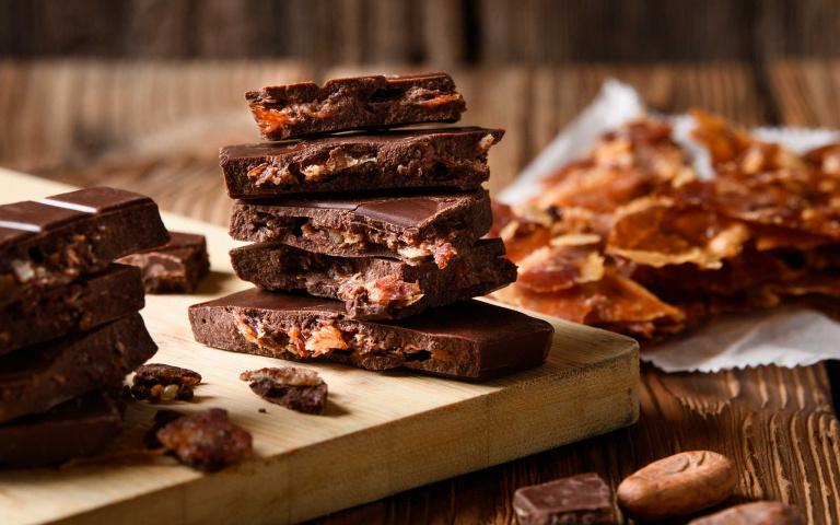 味覺大驚奇! 伊比利火腿、台灣豬培根做成巧克力 情人節禮新選擇