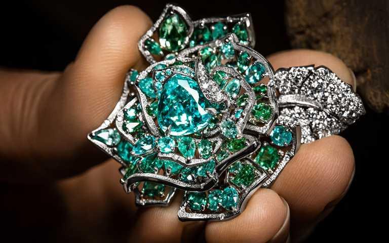 鏗鏘玫瑰詩意蔓生!全新DIOR「RoseDior」系列高級珠寶 貴金屬花莖蜿蜒腕間迷人風情