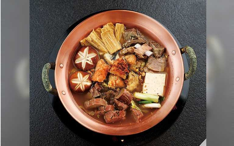 一口入魂品和牛3/蘭亭鍋物割烹 嚴選食材台味飄香
