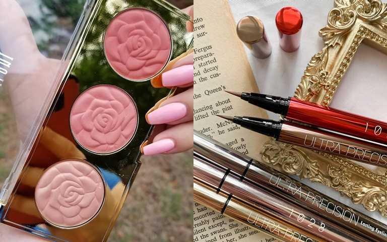 盤點日韓台美最夯開架美妝!其中這盤玫瑰腮紅更被網友推爆是此生必買腮紅首選!