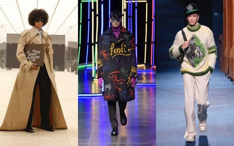 2021秋冬男裝週:LV把飛機、報紙、咖啡杯都變包包,Silvia Fendi跨界創作舞曲...打包所有亮點一次看