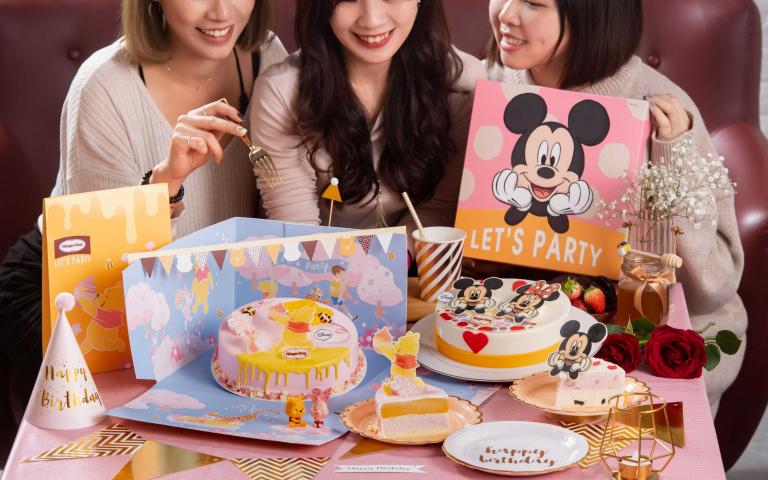迪士尼控買起來!Häagen-Dazs推出小熊維尼、米妮超萌派對組 再加碼「101忠狗蛋糕」根本捨不得吃!