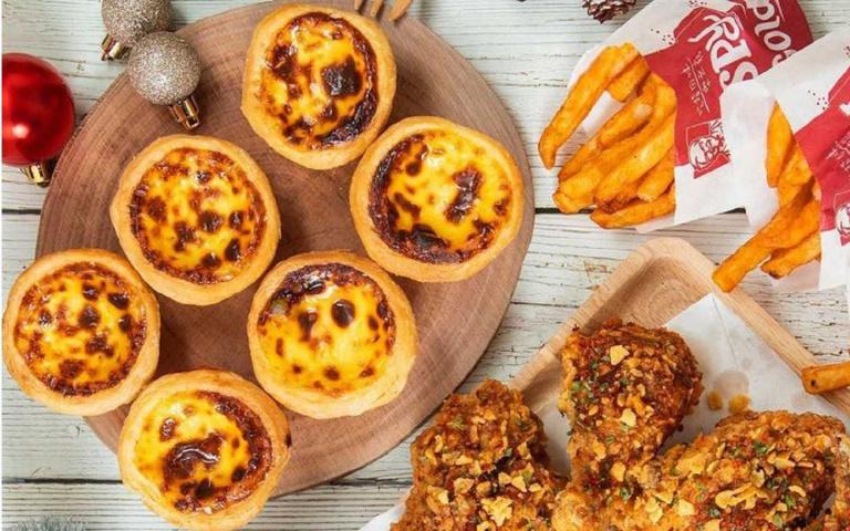 肯德基推超強限時優惠,點餐免加購就能獲得原味蛋撻禮盒!