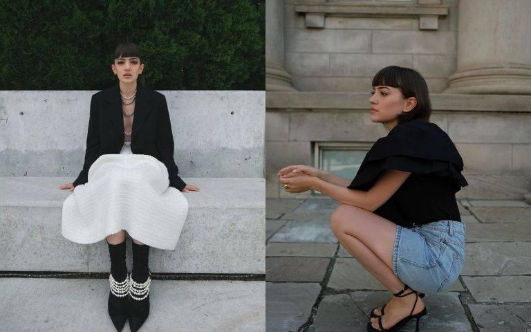 穿梭在黑白之間的溫柔感:來自加拿大多倫多的她,根本就是「嬌小女生穿搭範本」