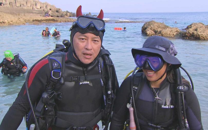 詹姆士人生清單Check 小琉球一圓潛水夢