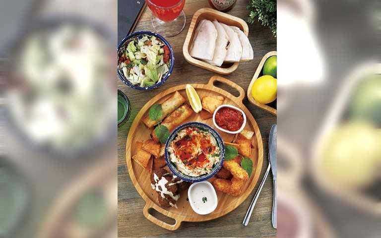 【中東魔幻食趣2】The Pita Bar Taipei 風味蘸醬道地