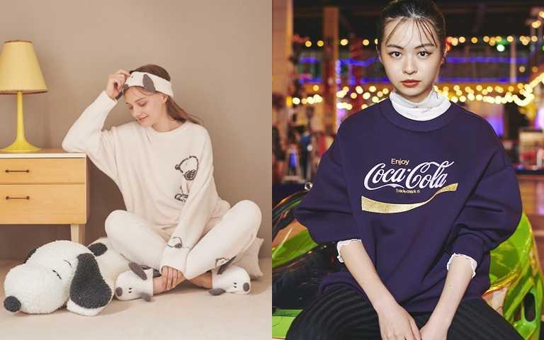 可愛女生都有的軟萌魅力!高詢問度的Snoopy、Coca Cola聯名終於登場 從居家到逛街時尚全包辦!