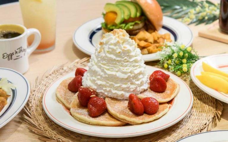 超人氣「鮮奶油火山鬆餅」熄燈 餐飲全面9折優惠
