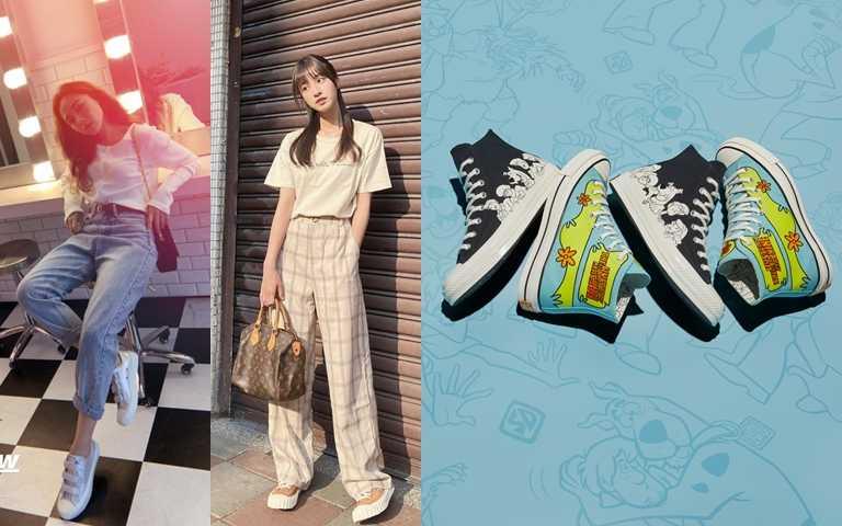 時尚KOL的首選鞋!日韓也瘋迷的餅乾鞋&帆布鞋又推新款啦!