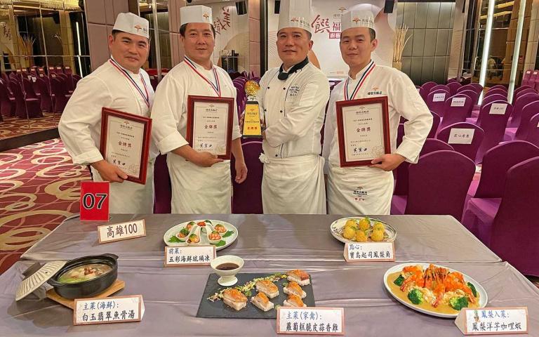 連鎖飯店廚藝競賽結果出爐!冠軍桌菜限時供應 還可以吃到獲獎鳳梨料理