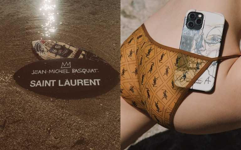 手機殼、衝浪板都變藝術品!SAINT LAURENT用夏季日常小物向傳奇藝術家JEAN-MICHEL BASQUIAT致敬!