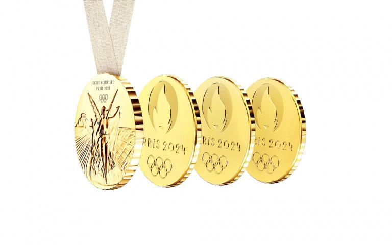 2024年巴黎奧運 概念獎牌採用「分享勝利」意念打造!由設計大師Philippe Starck操刀!