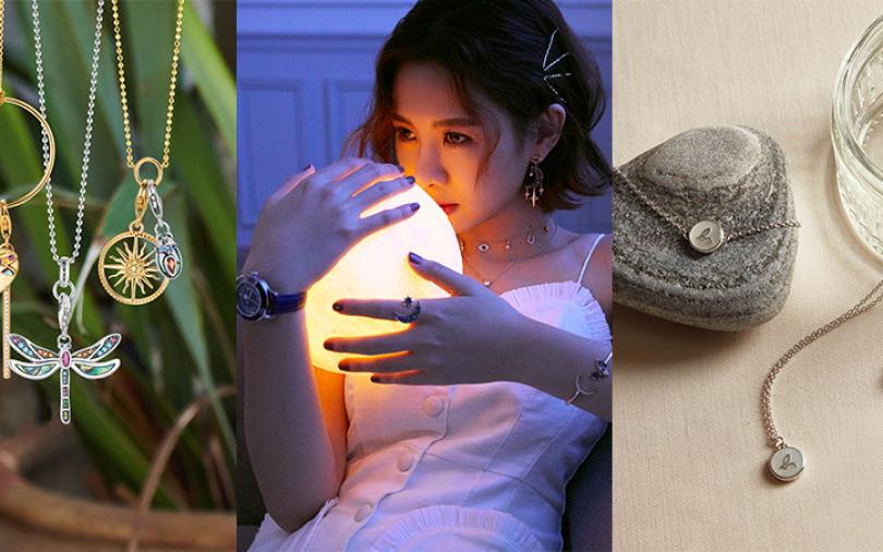 小資飾品新選擇:星辰、極簡線條、熱帶叢林 一件單品煥新穿搭