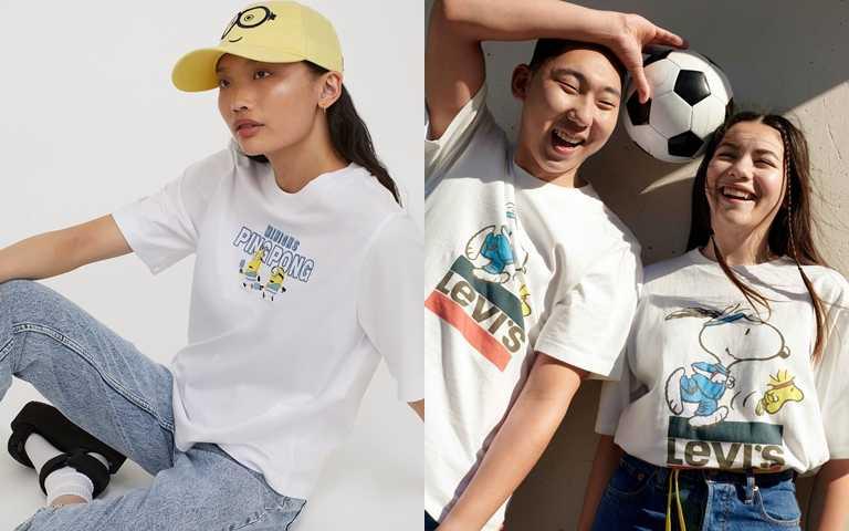 萌系聯名又來了!LEVI'S、H&M延續卡通狂熱 今夏再推人氣聯名粉絲必衝!