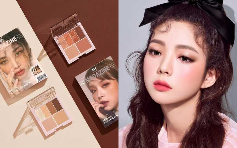 不用找代購!韓國人氣開架彩妝16brand迷你雜誌彩妝盤、三秒鼻影確定登台了!