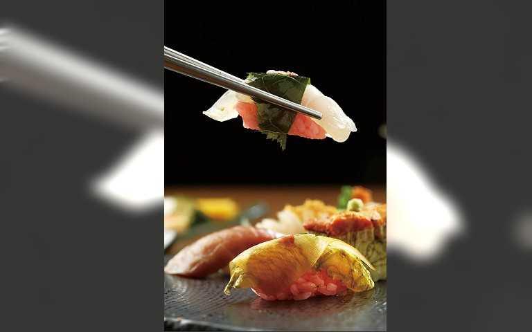 千元板前宴1/弁慶 櫻花握吃時旬味