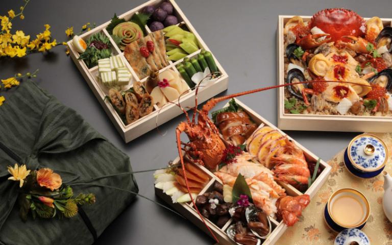 超豪華便當2.0版 米其林星級台式餐廳將山珍海味裝進餐盒裡