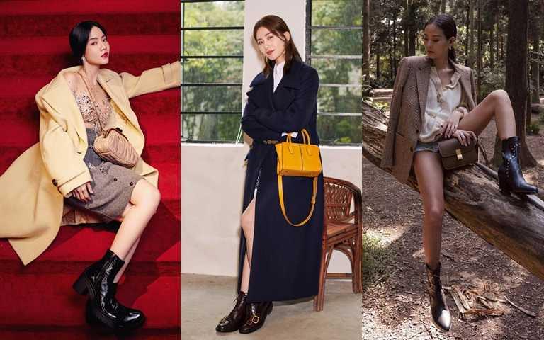 女明星美腿穿搭特輯!短褲短裙搭長大衣的露腿技巧 讓你冬天穿美美也不怕冷