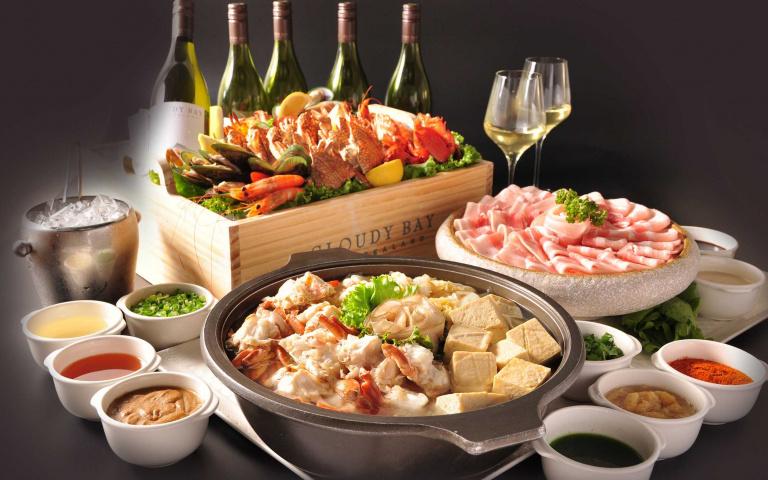 吃到痛風也甘願!五星飯店Buffet推出超狂「澎派海鮮桶」晚餐四人同行再贈紐西蘭白酒