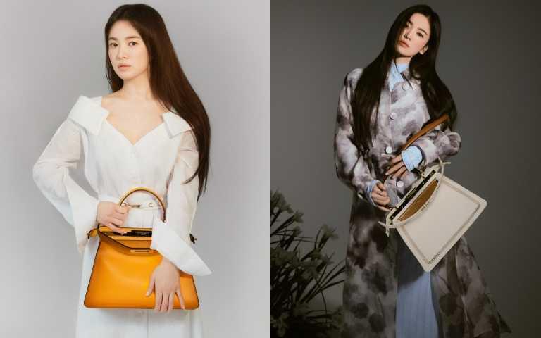 散發優雅卻堅毅的力量:宋慧喬穿上FENDI春夏系列宣布成為品牌韓國代言人