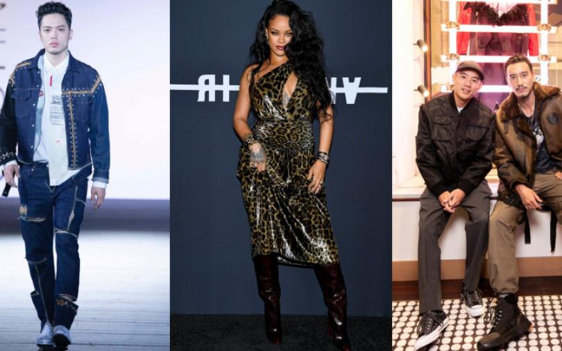 蕾哈娜性感穿豹紋中空洋裝、街巷穿改造舊衣走秀 本周時尚現場帶你看時尚潮人怎麼玩