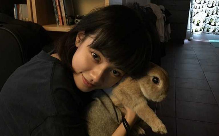 姚愛寗學成寵物溝通!「兔子養10年不給摸」解密原因大爆笑