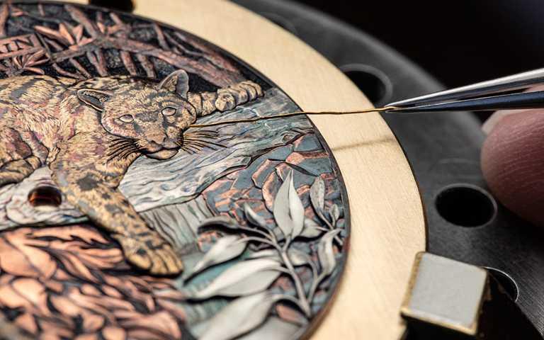微雕雋永藝術時計!寶珀「Métiers d'Art」訂製腕錶 赤銅工藝、微繪琺瑯、備長炭錶盤展新意