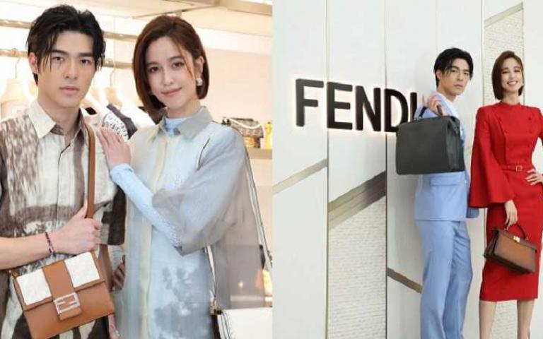 把「家」的想念變成服裝:陳庭妮、陳昊森穿上FENDI春夏系列 展現舒適遊走的浪漫