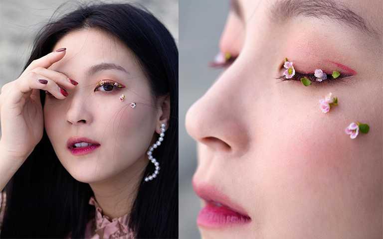 「莓果色眼彩」選擇煙燻調、低光澤產品,不泡眼更帶有怦然心動初戀味