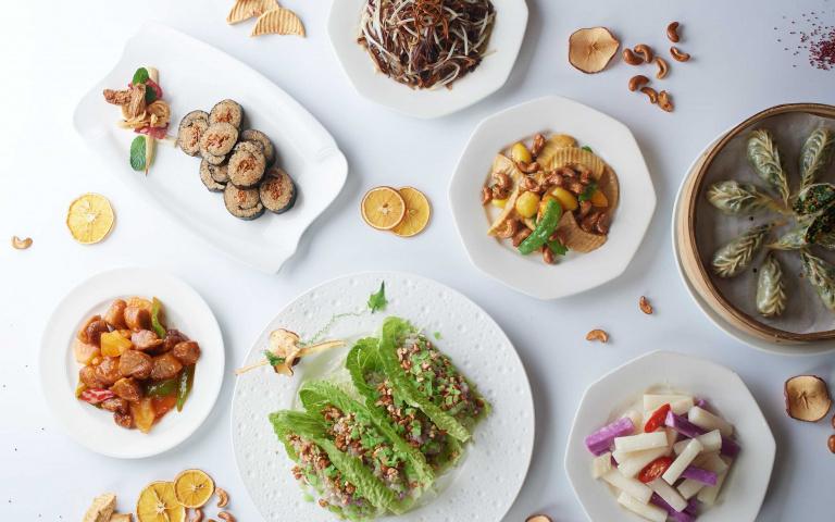 無肉也可以很歡樂!五星飯店推「22種蔬食料理 」,只要180元就能吃到!