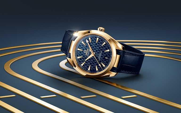 摩拳擦掌勇奪金牌終極榮耀!歐米茄新創「Aqua Terra海馬」東京2020黃金版腕錶,為奧運殿堂級頂尖運動員披穿耀眼戰衣