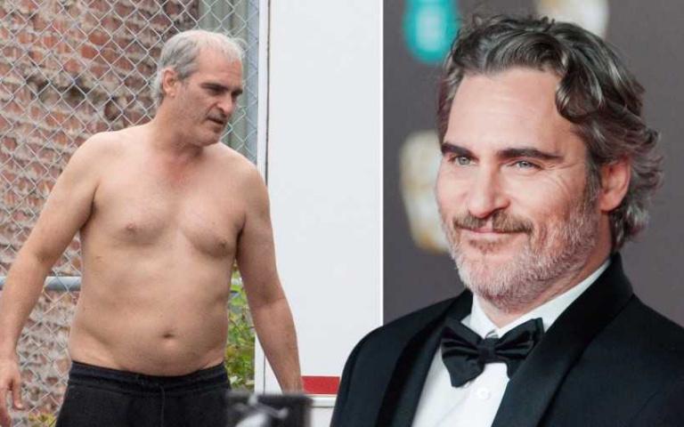 還記得奧斯卡影帝Joaquin Phoenix為了《小丑》瘦到一個皮包骨嗎?新戲《失落大道》轉變成「肥肚大叔」!