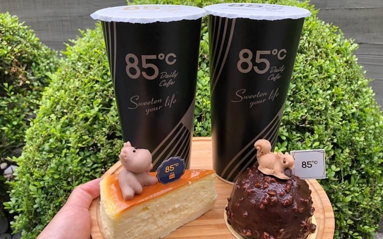 迎七夕!85℃推「99元情人節套餐」,蛋糕、飲品任你搭