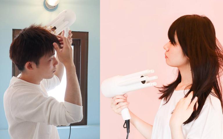 髮量多、怕熱者的救星!日本「不流汗吹風機」同時吹出冷熱風