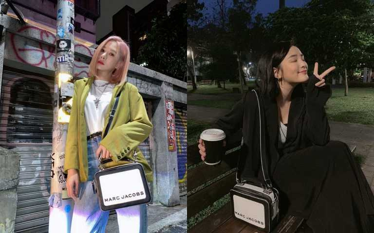 女神安心亞、學姊王靜都拎上這咖「餐盒包」 經典黑白配色款怎麼搭都時髦!